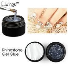 Ellwings <b>Гель</b>-<b>лак для ногтей</b> Стразы <b>супер</b>-клей липкий для ...