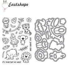 <b>Eastshape</b> Animal Elephant <b>Monkey</b> Metal Cutting <b>Dies</b> for ...