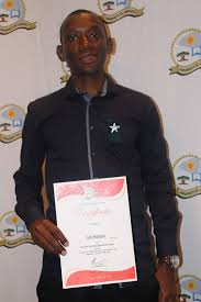 Brian Molele came out triumphant as Best Overall Research Paper  Research Day  he received R      cheque and a certificate of honor    University of Limpopo