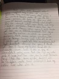 you have to the beautiful essay this 12 year old wrote after ads by kiosked