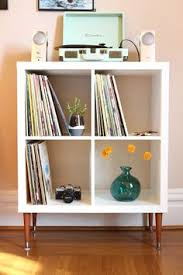ikea kallax shelf mcm legs the most beautiful record display click through for beautiful ikea closets convention perth contemporary bedroom