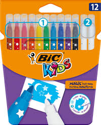<b>Цветные</b> карандаши, <b>фломастеры</b>, мелки: <b>BIC</b> – купить в сети ...