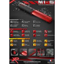 <b>XP MI</b>-<b>6</b> Waterproof <b>Pinpointer</b> Metal Detector | Shop | Features ...