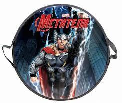 <b>Ледянка</b> - <b>Marvel Thor</b>, круглая, диаметр 52 см от <b>1Toy</b>, Т58171 ...