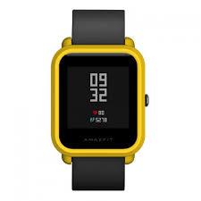 <b>Рамка</b>-<b>чехол для защиты Amazfit</b> Bip (желтый) по цене 390 руб ...