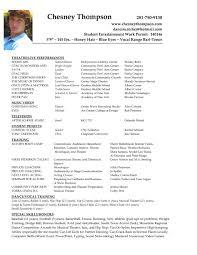 Child Actor Sample Resume Haadyaooverbayresort Com