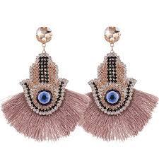 2019 <b>Sehuoran</b> Bohemian <b>Tassel Earrings</b> Finger Pendientes ...