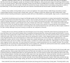 human cloning and ethics at essaypedia comessay on human cloning and ethics