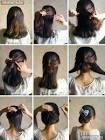 Красивые прически для средних волос в домашних условиях фото