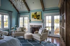 big master bedrooms couch bedroom fireplace: fireside retreat dh master bedroom double french doors patio hjpgrendhgtvcom