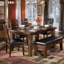room table corner bench set ashley crofton