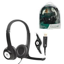 Купить <b>Наушники</b> с микрофоном (гарнитура) <b>LOGITECH H390</b> ...