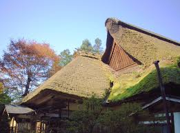 housing in the encyclopedia a house an housing in the encyclopedia a house an old style thatched roof near mount mitake tokyo