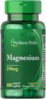 Витамины Puritan's Pride Puritan's Pride Magnesium <b>250</b> mg <b>100</b> ...