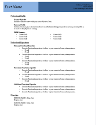 resume template   examples of microsoft office resume templates    primary functional experience microsoft office resume templates include a brief paragraph about your self