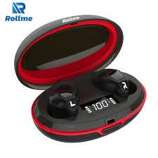 <b>Rollme T05 TWS</b> Bluetooth Earphones Hifi Sound Smart Button ...