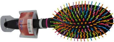 <b>Расческа Nice</b> View массажная с цветными зубцами — купить в ...