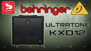 <b>BEHRINGER</b> KXD12 <b>ULTRATONE</b> - <b>клавишный комбо</b> ...