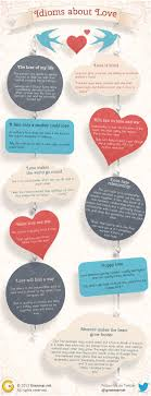 best ideas about idioms and phrases english 10 idioms about love using infographics in grammar nice way to present figures of speech