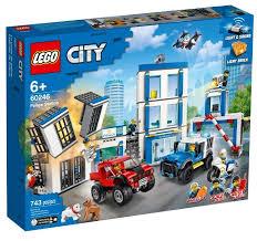 Купить <b>Конструктор LEGO City Полицейский</b> участок в интернет ...