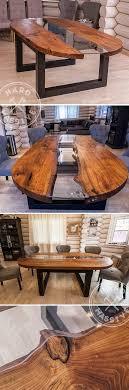 Oval <b>River table</b> | <b>Обеденные</b> столы из дерева, Большие ...
