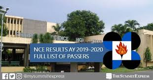 LIST OF PASSERS: 2018 PSHS NCE Results for AY 2019-2020 ...