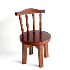 Solid Wood Small Chair Stool Chair Home Small ... - Amazon.com