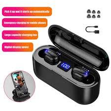 [Bayar Di Tempat] <b>Q32</b> TWS <b>Bluetooth Headset</b> Mini Bluetooth V5.0 ...