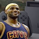 LeBron James' Latest Obsession is a Nintendo Switch He Got for Christmas