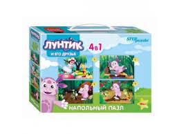 Купить <b>пазл Step puzzle</b> Мельница Лунтик (70153) 4 в 1 по цене ...