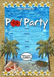 pool party invitation template net swimming pool invitations templates template party invitations