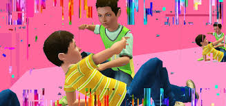 bullying as social inequality   the enemyillustration uses sims  characters posed by styxlady