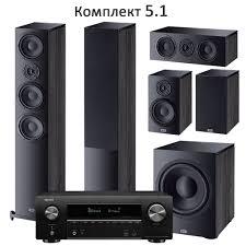 Комплект 5.1, <b>Heco Aurora</b> 700 + Denon AVRX2600H / Аудиофактор