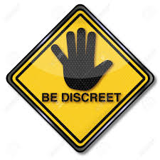 Image result for discreet