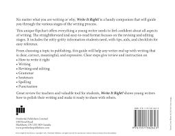 write it right publishers books middot teaching writing <>