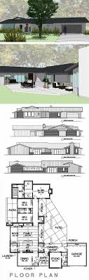 Cliff May inspired ranch house plans from Houseplans com   Retro    Cliff May inspired house plan