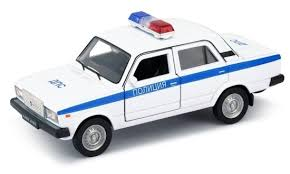 Легковой автомобиль <b>Welly</b> Lada 2107 <b>Полиция</b> (43644PB ...