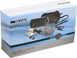 BH PSP E1000 <b>Набор</b> 12 в 1 (<b>чехол</b>,USB,наушники,ремешок ...