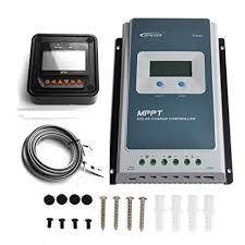 Amazon.com : <b>EPEVER MPPT Solar Charge</b> Controller <b>40A</b> ...
