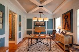 view in gallery blue and white home office has a cheerful airy ambiance design kerri robusto blue brown home office