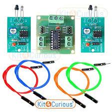 Buy Kit4Curious IR Sensor (2pcs), L293 Motor Driver (<b>1pcs</b>), <b>4</b> ...