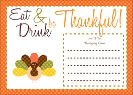 thanksgiving invitation templates ctsfashion com best images of printable thanksgiving invitations