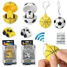 Cartoon <b>2.4G Mini Soccer</b> Basketball <b>Remote</b> Control Car Toys ...