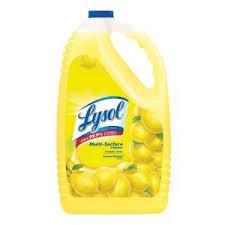 Lysol 144 oz. <b>Lemon</b> Breeze <b>All</b>-<b>Purpose Cleaner</b>-36241 75610 ...