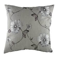<b>Подушка с орнаментом</b> Gray Flowers — купить по цене 6000 руб ...