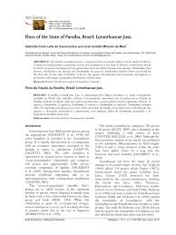 (PDF) Flora of the State of Paraíba, Brazil: Loranthaceae Juss