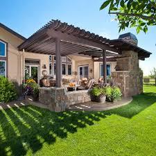 patio designs small elegant pergola