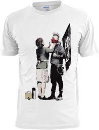 Banksy <b>Punk</b> Mum <b>Mens T Shirt</b> Graffiti Art Urban: Amazon.co.uk ...