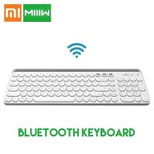Original Xiaomi <b>Miiiw</b> Bluetooth Dual Mode Keyboard <b>MWBK01</b> 104 ...