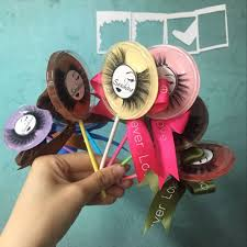 New Style Lollipop Strip Eyelashes <b>10 Pairs</b>/<b>lot</b> 100% 3D Top Real ...
